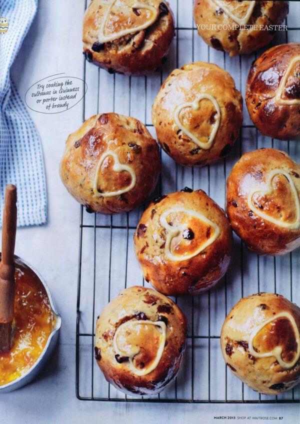 Waitrose Magazine – Best ever hot cross buns