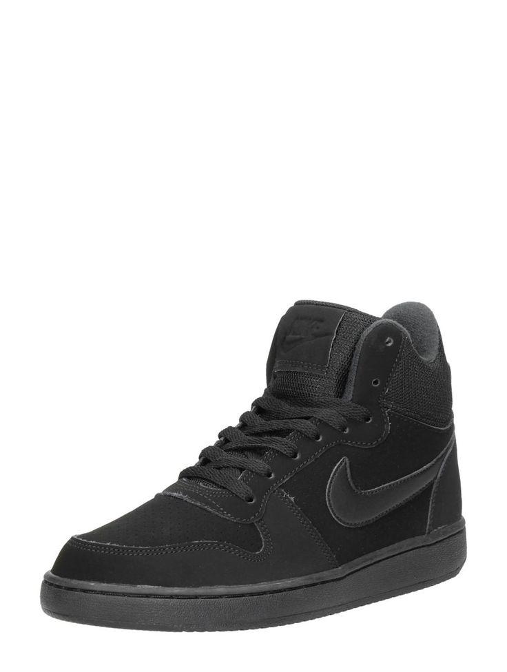 Nike Court Borough mid hoge sneakers voor dames - zwart