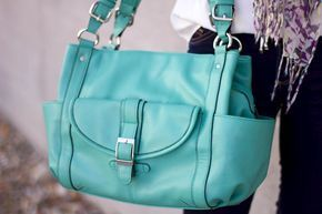 Addison Concealed Carry Purse in Seafoam - Fayth Concealed Carry