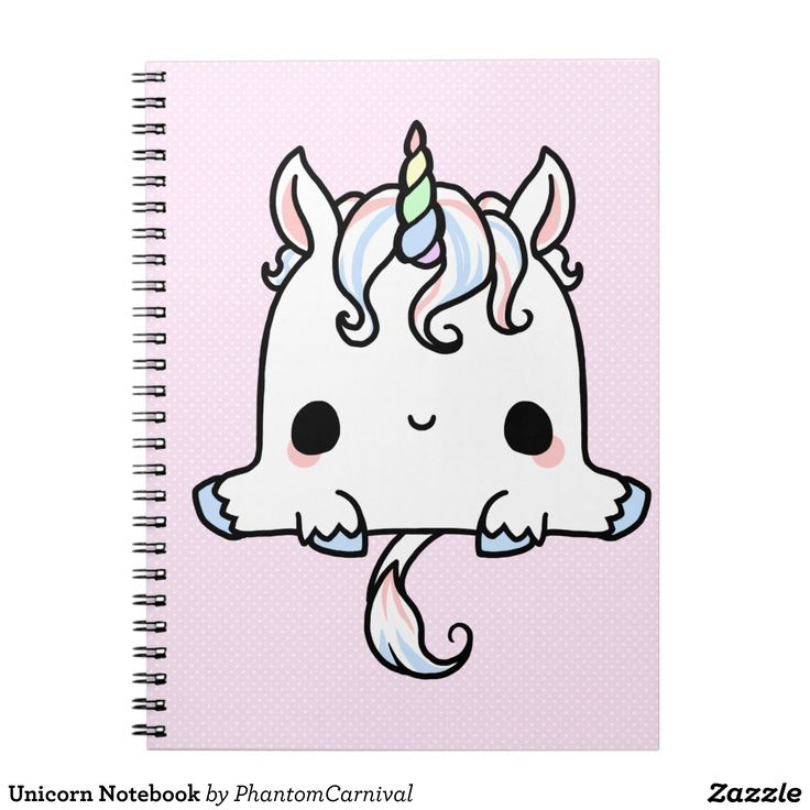 Cuaderno del unicornio