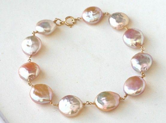 Fresh Water Pearl Bracelet <3