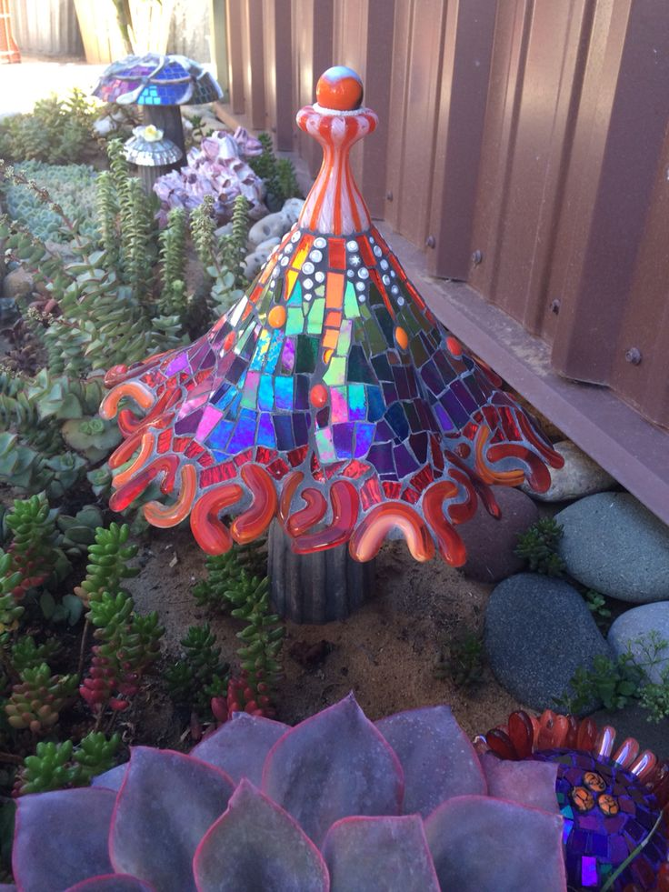 Art For The Garden: 17 Best Images About Mosaic Magical Mushrooms On Pinterest