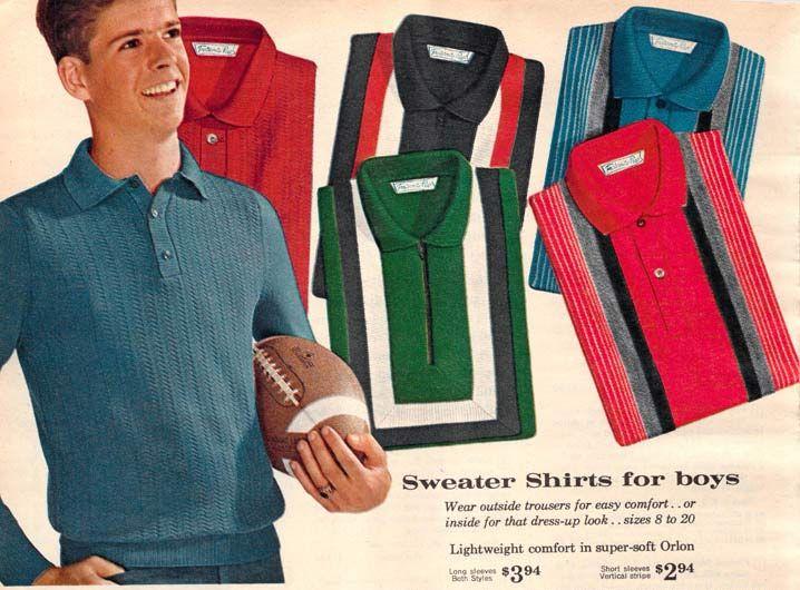 1960s Fashion for Men & Boys