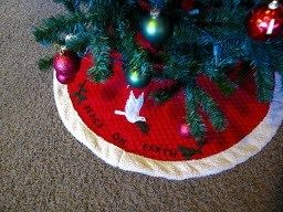 Tutorial Quilted Christmas Tree Skirt With Fur Trim