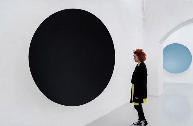 Anish Kapoor 'Descension' 02/05/2015 - 05/09/2015 GALLERIA CONTINUA, San Gimignano / Beijing / Les Moulins #kapoor #suvera #exhibition #tuscany #art
