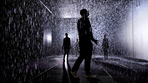I want to goooo  Rain Room at Barbican's Curve Gallery | London