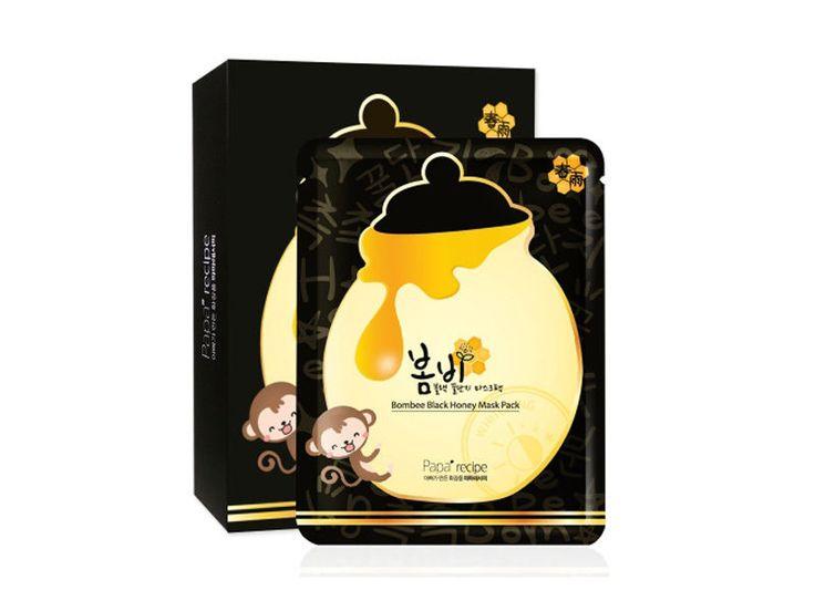 Papa recipe Bombee Black Honey Facial Mask Pack (25g X10ea) #PapaRecipe