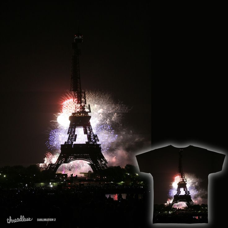 lOVE in Paris on Threadless
