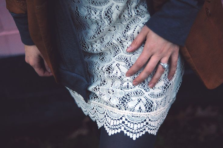 Lace dress and blazer | Oh Lovely Bows