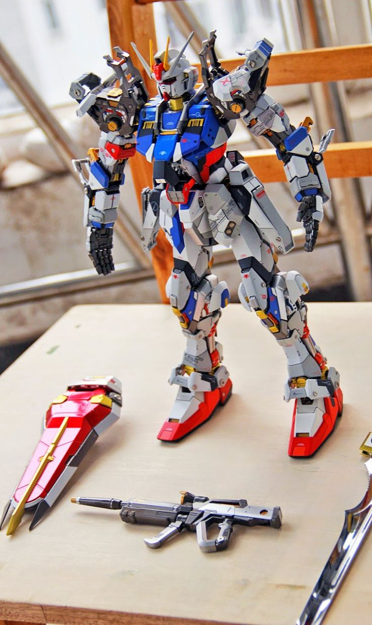 GUNDAM GUY: PG 1/60 GAT-X105 Strike Gundam - Customized Build | Toys : Gunpla | Pinterest | Gundam