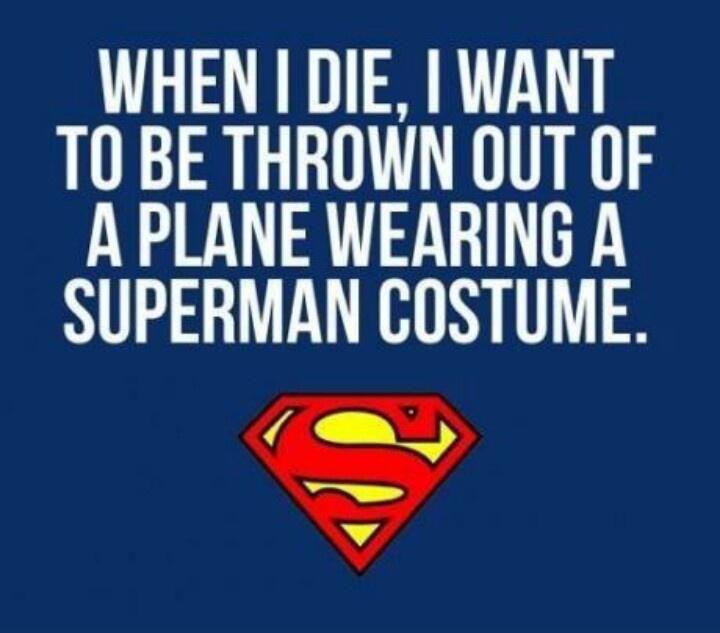 When I die...