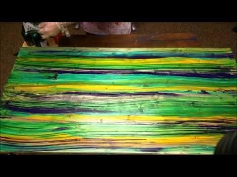 Unicorn SPiT: Angel Fire pt 1 Stain Press Technique - YouTube