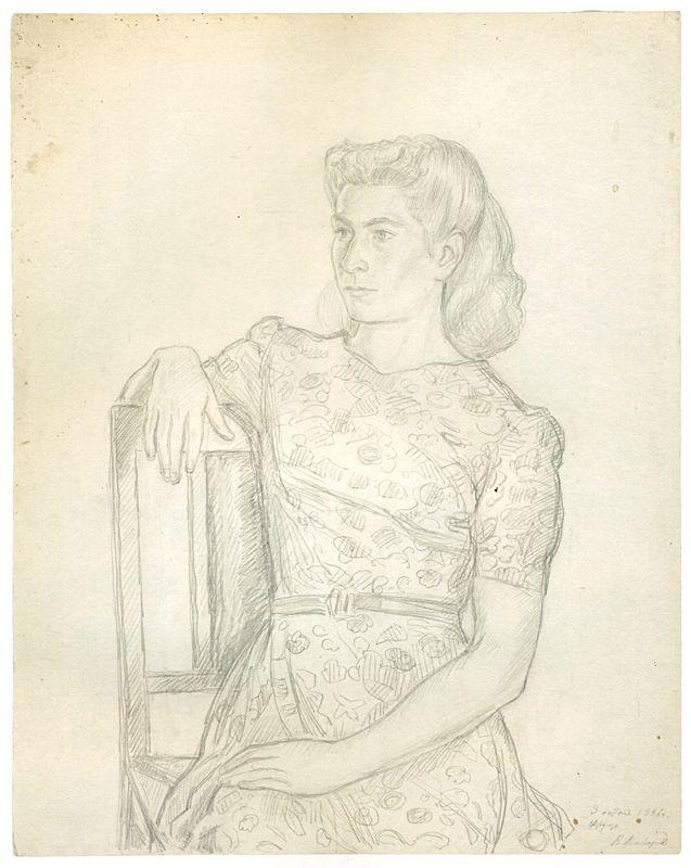 Владимир Андреевич Фаворский (1886-1964гг). Рисунки из киргизского цикла - Музей рисунка