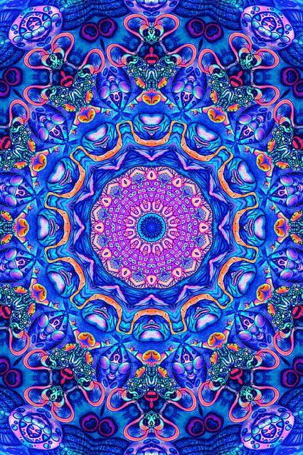☯☮ Psychedelic Art