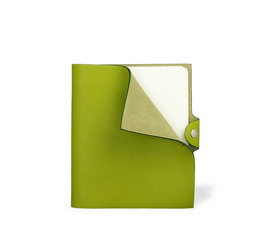 ahhhh.....Hermes notebook in Anise green