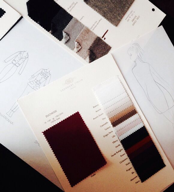 Building a new wardrobe ⭐️ all Silk and Cashmere everything ⭐️  For private fittings and questions please email: silvanamaioranoberlin@gmail.com  #berlinfashion #madetomeasure #bespoketailoring #madeinitaly
