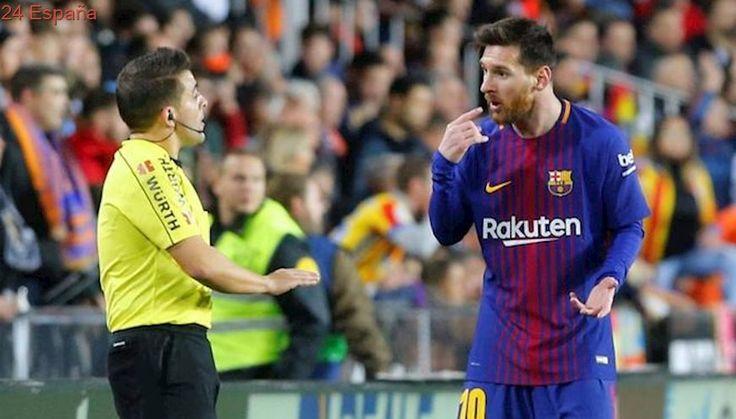 Una casa de apuestas da por válido el gol de Messi y paga por el 'triunfo' del Barcelona