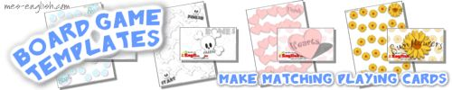 Printable board games, free board games to print with matching game cards and question cards