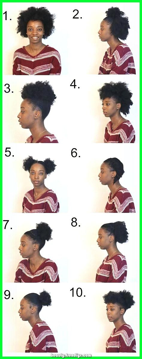 Elegant Listed below are fast, easy and simple hairstyles for brief medium pure hair for ...