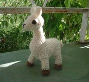 Llama - Free Crochet Pattern