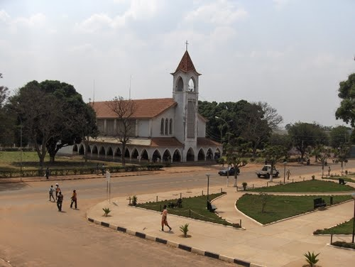 An old church in the center of Angola.