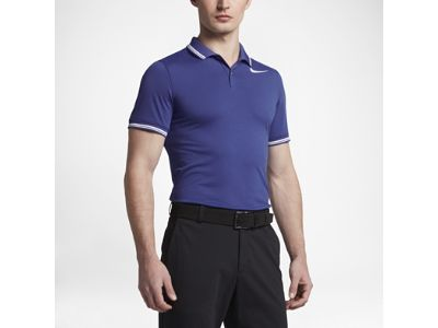 Polo de golf de ajuste entallado para hombre Nike Dry Tipped