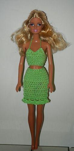 Crochet Barbie Dress - Free Ravelry Download