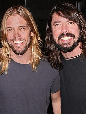 Taylor and Dave...Rock Gods!