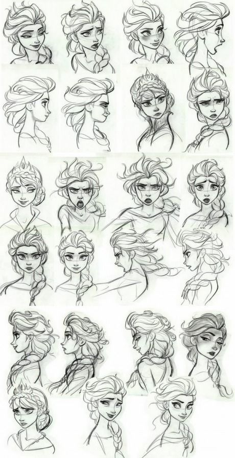 Disney style drawing