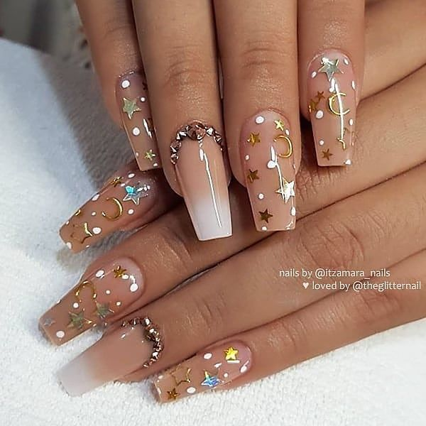 ✔ 30+ most sexy and trendy prom and wedding acrylic nails and matte nails for this season 24