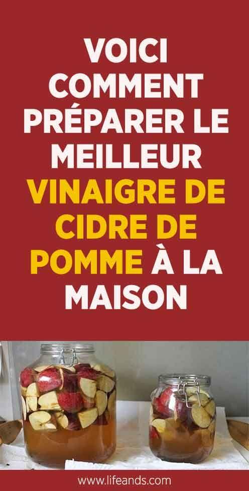 Voici comment préparer le meilleur vinaigre de cidre de