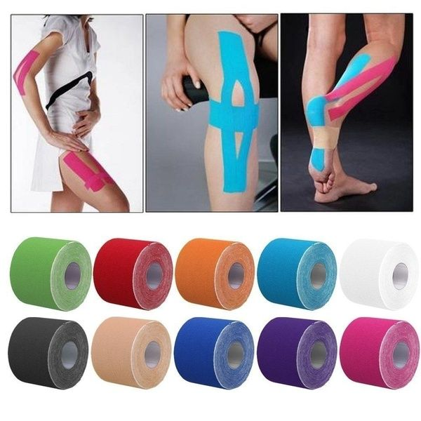 Titanium Sports Kinesiology Tape-Sports Physio Knee Shoulder Body Muscle Support