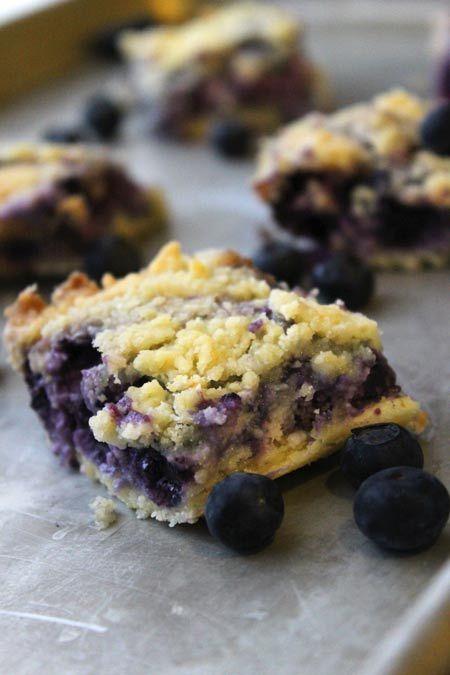 Blueberry Bars - An Easy, Warm Winter Treat (she: Christina)