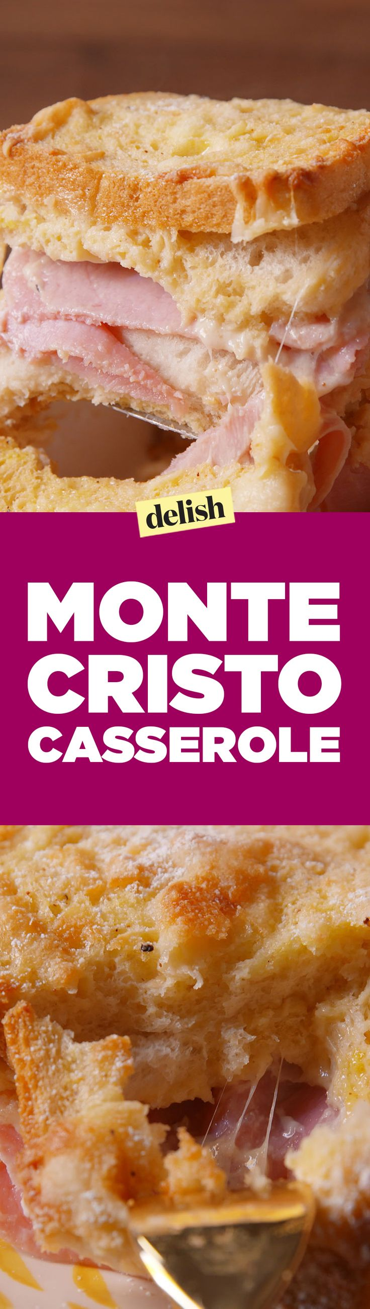 You've never seen a Monte Cristo like this before. Get the recipe on Delish.com.