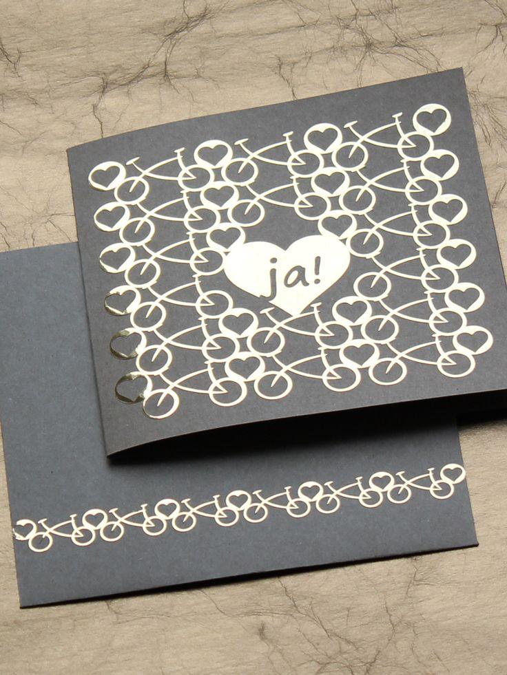 50 besten gl ckwunschkarten basteln plotten bilder auf pinterest einladungen selbstgemachte. Black Bedroom Furniture Sets. Home Design Ideas