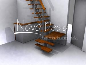 escaleras espacios reducidos pasos alternados ms
