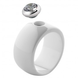 Melano Magnetic ring wit keramiek glans 12 mm