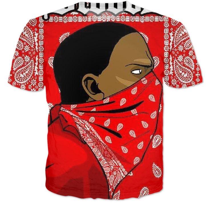 Barato Mais novo Gangsta Rap Hip hop tops tees flores de caju imprimir 3d camiseta mulheres / homens casual harajuku camisetas camisas engraçadas de t, Compro Qualidade Camisetas diretamente de fornecedores da China: