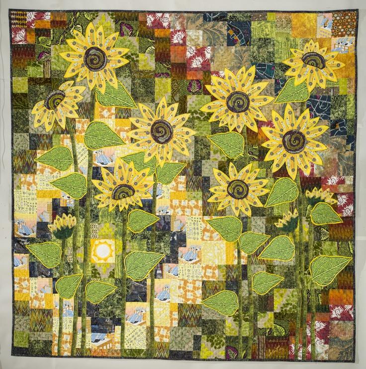 Best images about quilts floral art on pinterest