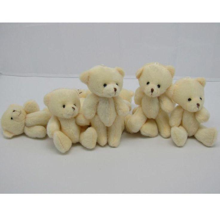 2017 Wholesale Kawaii Small Joint Teddy Bears Stuffed Plush 12cm Toy Teddy Bear Mini Bear Ted Bears Plush Toys Wedding Gifts 020 From Toyshome, $61.78 | Dhgate.Com