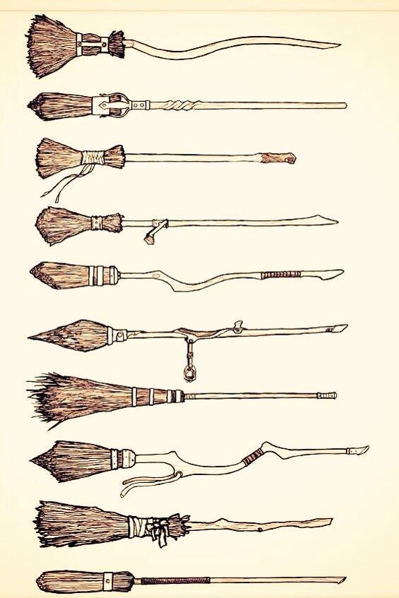 Harry Potter Broomsticks More
