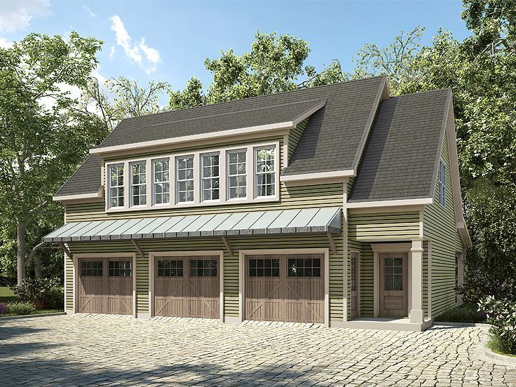 198 best carriage house plans images on pinterest for Carriage house plans with apartment