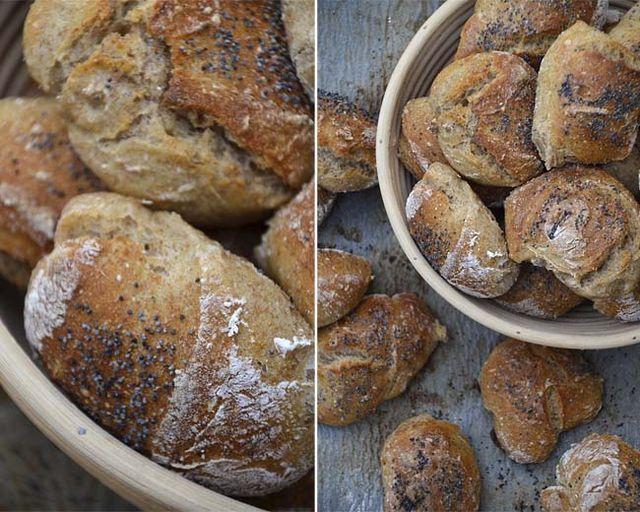 SPRØDE BOLLER UDEN SURDEJ | Twin Food | Bloglovin'