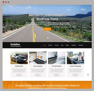 #GuidelinePro is a #BestMultipurposeWordPressTheme #Get live demo #Buy Now $33 #SEO friendly theme #GPL Licensed