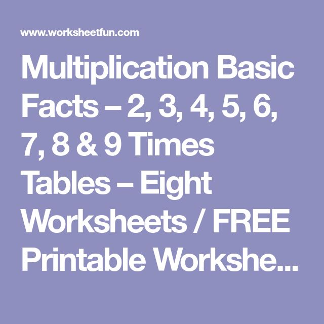 Best 25+ Times tables worksheets ideas on Pinterest Times tables - horizontal multiplication facts worksheets
