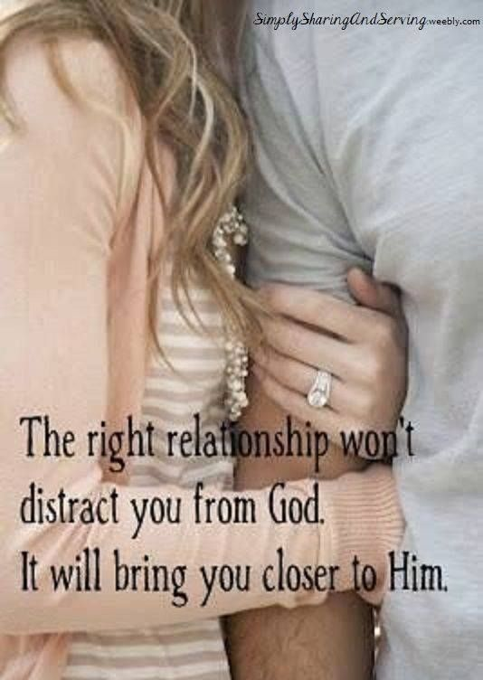 AMEN! A godly relationship illustrates God's faithfulness, kindness, peace, joy, and love. It helps one grasp how wonderful God's love is. Do your relationships showcase the best fruit of the Spirit or selfishness. See Galatians 5 for the lists of characteristics