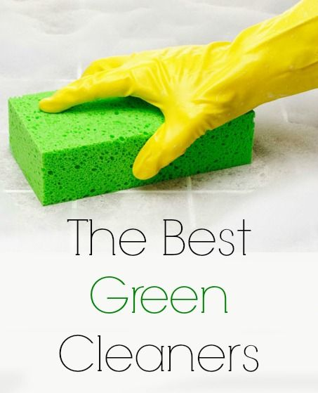 The best green cleaners are unveiled in a database created by Environmental Working Group.