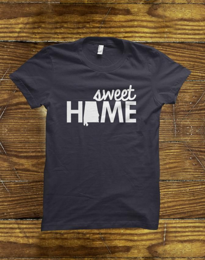 Sweet Home Alabama T-Shirt on BourbonandBoots.com #alabama #alabamatshirt #tshirt