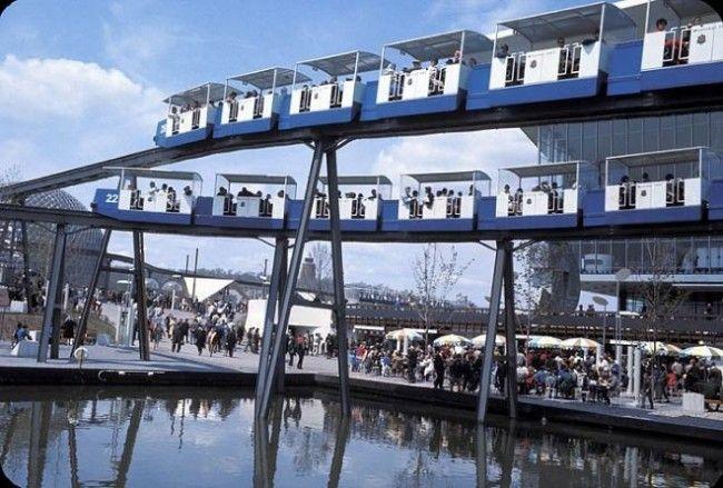 Expo67 | Montreal, Quebec, Canada | #Expo67 | Monorail