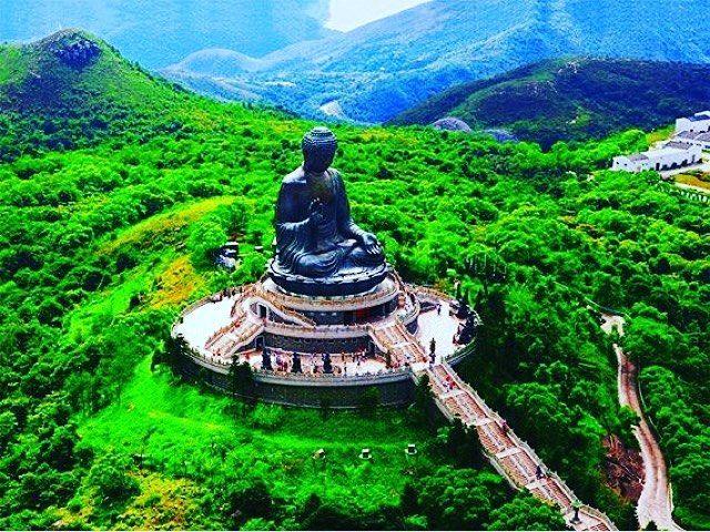 Temple Buddha Hongkong